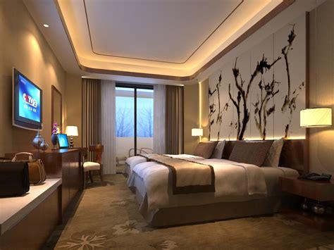 Modern Cozy Bedroom 3D Model max CGTradercom