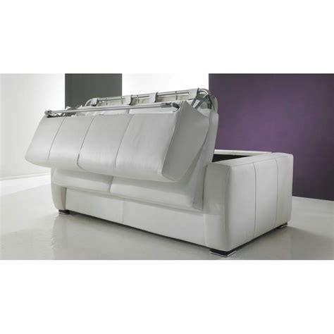 canap convertible rapido cuir canapé lit rapido en cuir de vachette pas cher