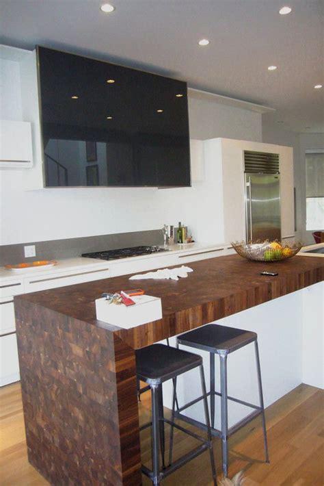 kitchen block island best 25 waterfall countertop ideas on 2321