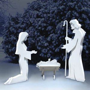nativity shadow woodworking plan set  designs included holidays pinterest