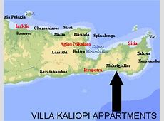 Villa Kaliopi Appartments, Makrigialos, Creta