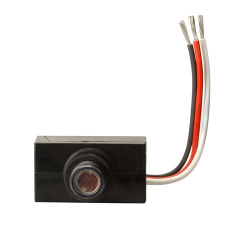 Wiring Photocell Light Sensor by Woods 59408 Outdoor Hardwire Post Eye Light With