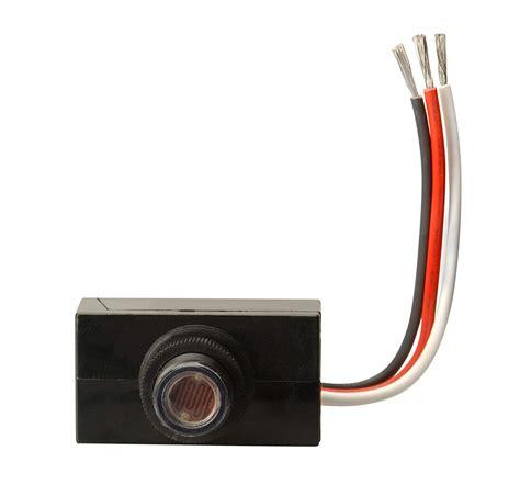 light sensor switch woods 59408 outdoor hardwire post eye light with