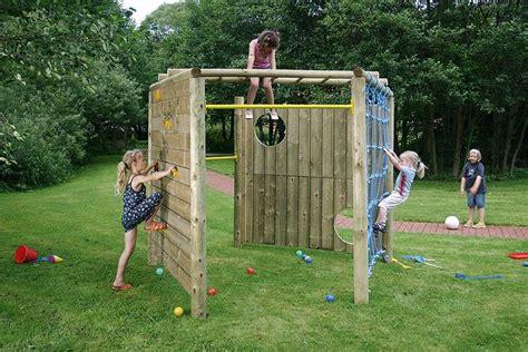 Klettergerüst Garten Holz 2157 Kinder Klettergeruest