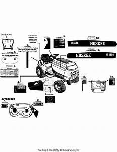 Mtd 13ax775h031  2008  Parts Diagram For Label Map