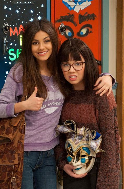 victoria justice  jennet icarly victorious victoria