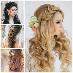 hair styles for wedding wedding half up half hairstyles for 2016 haircuts hairstyles 2017 and hair colors for