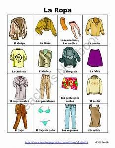 29 best images about Las prendas de vestir on Pinterest Spring clothes, Vocabulary worksheets