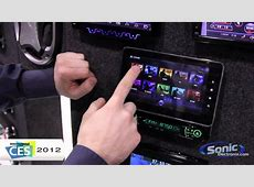 Absolute AVH1100AN Car Stereo w Android Tablet CES