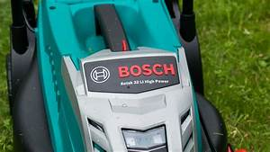 Kleiner Akku Rasenmäher : bosch home garden rotak 32 li high power akku rasenm her review techtest ~ Eleganceandgraceweddings.com Haus und Dekorationen
