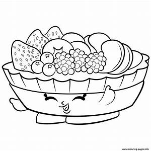 Exclusive Fifi Fruit Tart To Color Shopkins Season 2