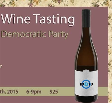spring wine tasting april boise idaho democratic party