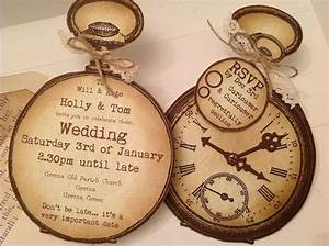 1000 ideas about shabby chic invitations on pinterest With pocket watch wedding invitations