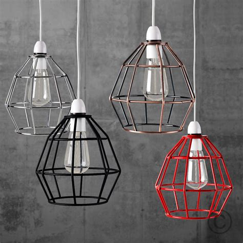vintage industrial style metal cage wire frame ceiling