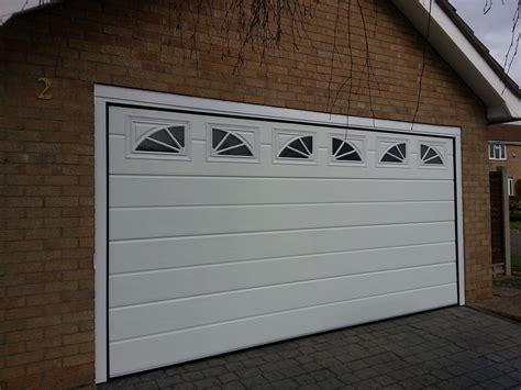 garage door with windows new garage door with windows grantham garage door