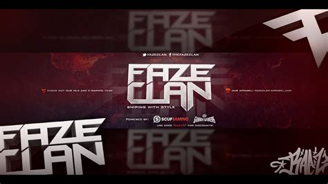 speed art fazeclan background youtube