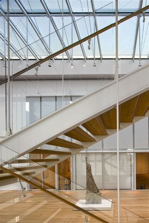 institute of chicago the modern wing stair renzo piano institute of chicago