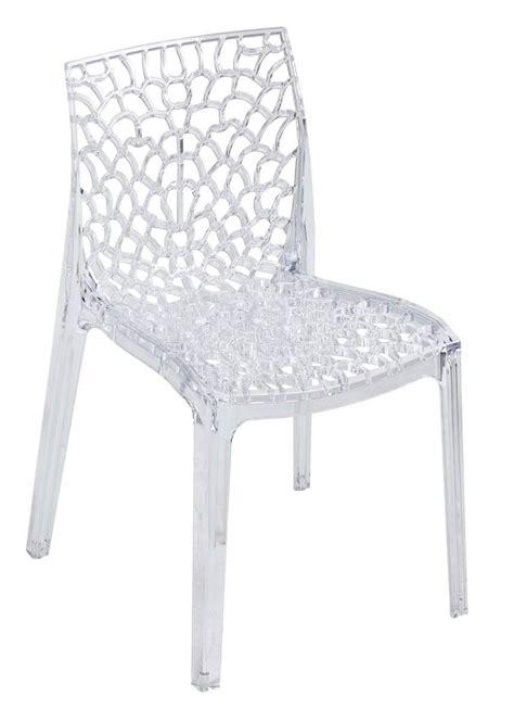 chaise plastique pas cher amazing chaises en plastique transparent 14 chaise