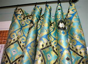 curtain panels in turquoise and brown blue turquoise With turquoise and gold curtains