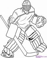 Hockey Coloring Pages Printable Gear Youth Sheets Birthday Party sketch template