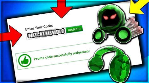 working promo codes  roblox  roblox promo