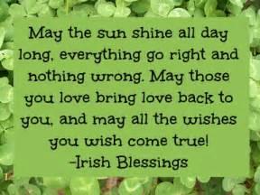 irish blessings and quotes quotesgram