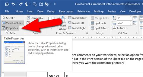 Table Within A Table by How To Nest A Table Within A Table In Word