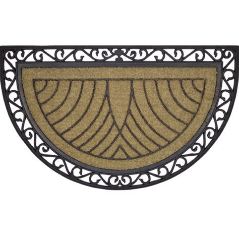 Solemate Doormats by Rubber Coir H Moon Temple Webster