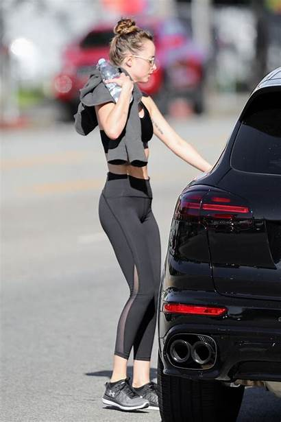 Dakota Johnson Gym Leaves Angeles Los Ass