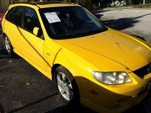 Purchase Used 2003 Mazda Protege 5 Yellow W   Black Leather