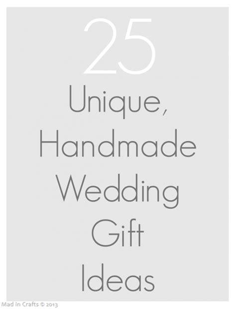 unique handmade wedding gifts mad  crafts