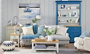 Coastal, Living, Rooms, To, Recreate, Carefree, Beach, Days