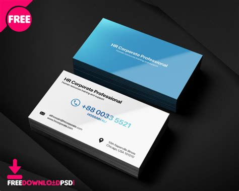 psd personal business card psd freedownloadpsdcom