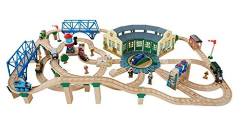 tidmouth sheds deluxe set fisher price the wooden railway tidmouth