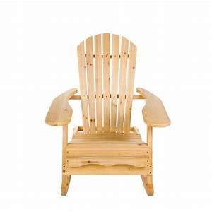 Fauteuil Bois Exterieur : fauteuil bascule d 39 ext rieur en bois adirondack 39 bowland 39 ebay ~ Melissatoandfro.com Idées de Décoration