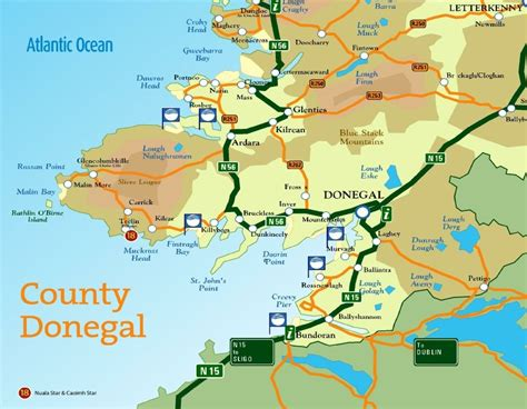 map  donegal pictures  pin  pinterest pinsdaddy