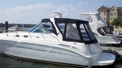 Canvas Bimini Tops For Boats by Custom Marine Sunbrella Canvas Enclosures Sea With