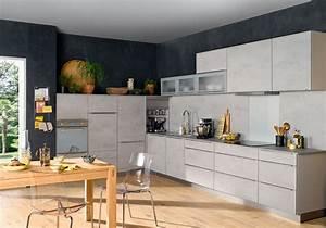 Beton Pour Plan De Travail : plan de travail cuisine effet beton lertloy com ~ Premium-room.com Idées de Décoration