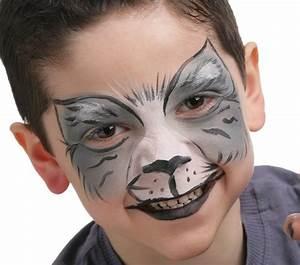 Maquillage Halloween Garcon : tutoriel pour un maquillage de chat ~ Melissatoandfro.com Idées de Décoration