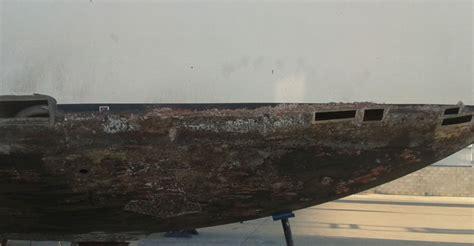 Steel Boat Rust Repair by Keel Repair Expert Fusion Mobile Welding Services