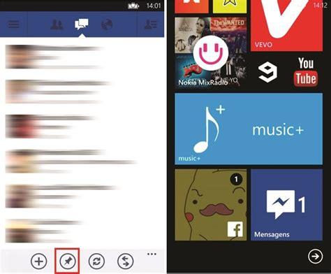 como colocar o messenger na tela inicial do windows phone dicas e tutoriais techtudo