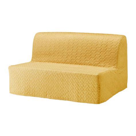 Lycksele Chair Bed Cover Pattern by Lycksele Sleeper Sofa Slipcover Vallarum Yellow Ikea