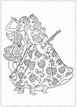Barbie Coloring Pages Princess Popstar Star Colouring Printable Pop Google Rock Birthday Royals Coloriage Company Sheets Dinokids Disney Stars Rockn sketch template