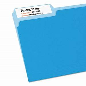 avery dennisonr 5027 extra large filing label ave5027 With avery template 5027