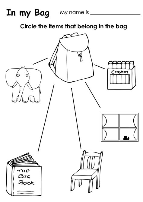 Classroom Coloring Pages 4 Best Images Of Printable Coloring Pictures Preschool