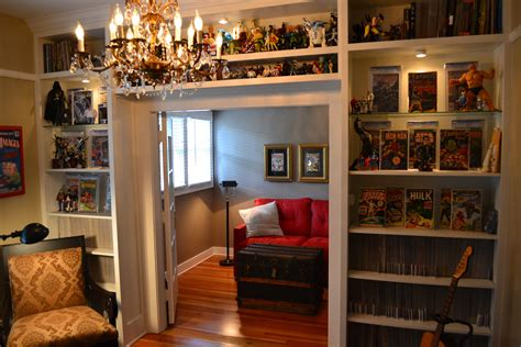 A Comic Book Room That My Wife Helped Design Lol. And With