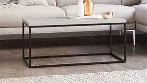 large matt grey and black powder coated coffee table uk With black and grey coffee table