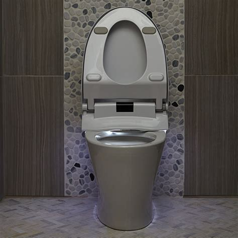 toilet with integrated bidet smart toilet at200 integrated bidet smart toilet from dxv
