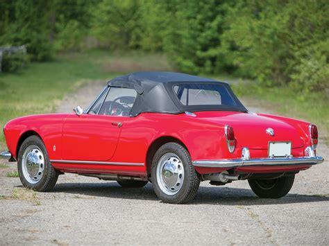 1962 Alfa Romeo by Rm Sotheby S 1962 Alfa Romeo Giulietta Spider By