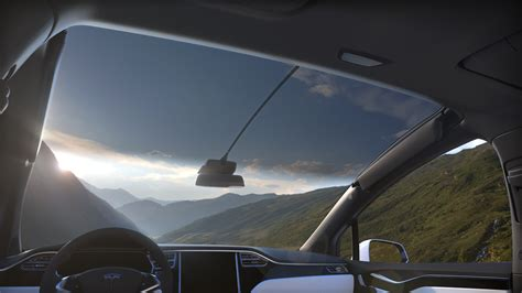 tesla windshield first ride report why the tesla model x electric car is